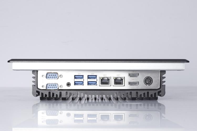 工控电脑具有丰富的I/O输入输出接口