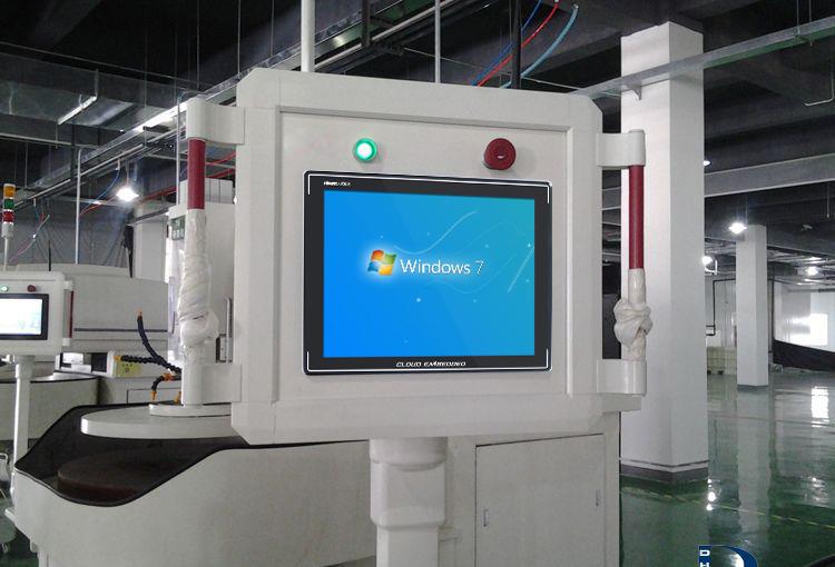 科拉德15寸工业平板电脑应用人机交互