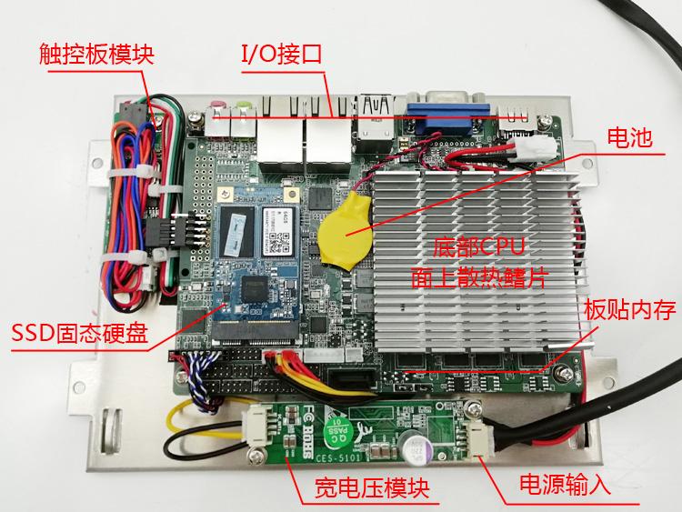 工业主板板载的硬件说明