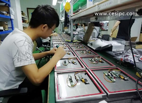 防水工业平板电脑批量化生产