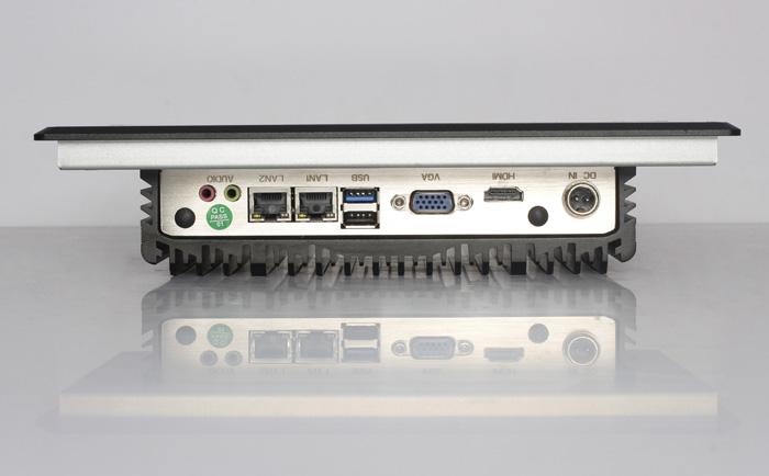 工控一体机具备丰富的I/O接口