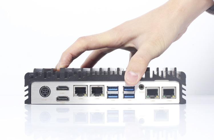 4个千兆以及网口工控机IPC-806