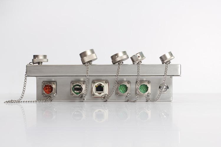 IP65防护等级防水平板电脑专业航插口图