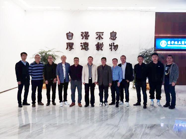 科拉德嵌入式赴广州拜访清华珠三角研究院