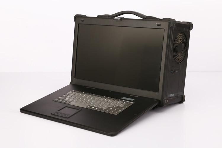 加固计算机工业便携机侧面