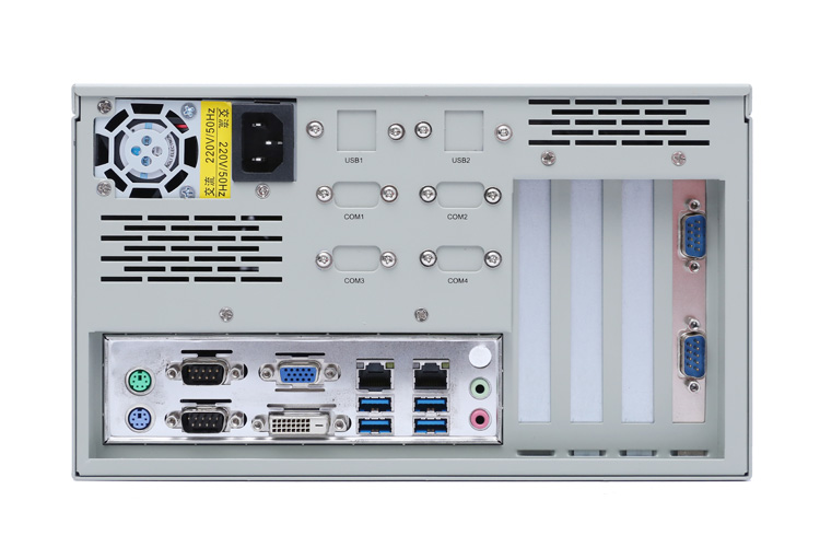 IPC-627工控机产品背面图